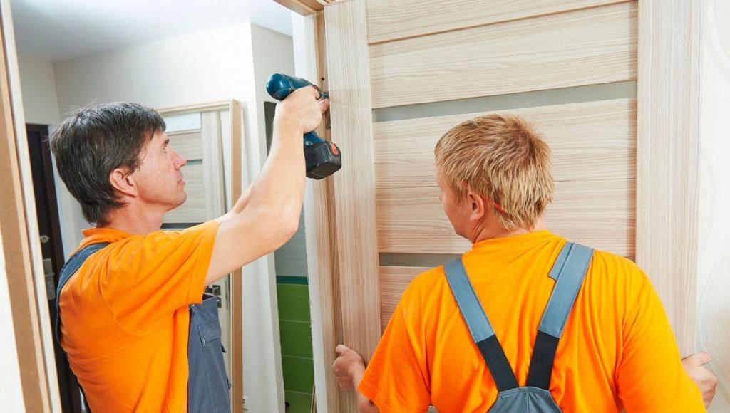 wood door repair